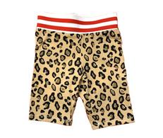 DP Leopard Biker Shorts