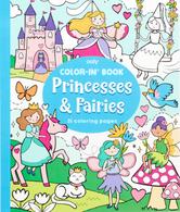 Color-In Book- Princesses & Fairies