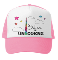 Believe In Unicorns (Pink