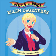 In this beautifully illustrated board book series, parents can celebrate the accomplishments of LGBTQ heroes, and introduce their little ones to the trailblazers who have shaped our world.  Ellen DeGeneres, one of the most recognizable entertainers in the world, has been making people laugh for nearly 40 years. As an actress, Ellen played the first gay lead character in a prime-time show, helping to pave the way for representation for LGBTQ people. Through her sitcoms, talk show, and iconic movies (Finding Nemo and Finding Dory), Ellen has become known for her hilarious wit and gigantic heart. Her activism and visibility have been transformative, and in 2016, she received the Presidential Medal of Freedom. Ellen, among many other LGBTQ heroes, has been an incredible force, paving the way for future generations.