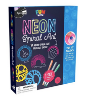 SB Neon Spiral Art