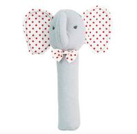 AR Squeaker Baby Elephant Grey