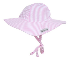 Floppy Hat Pink Stripe