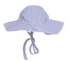 Floppy Hat Blue Stripe