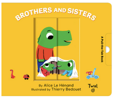 Pull And Play Books - Brothers And Sisters