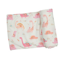 AD Swaddle - Floral Dino