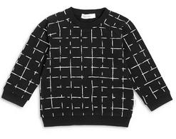 MB Sweatshirt Black Check