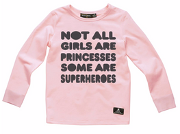 RYB L/S Girl Superheros