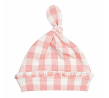 AD Knotted Hat Gingham 0-3m