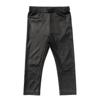 OM Faux Leather Legging