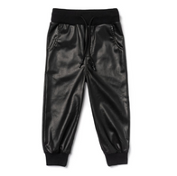 OM Faux leather Jogger