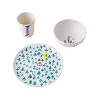 Dish Set - Bear