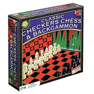 Checkers, Chess & Backgammon