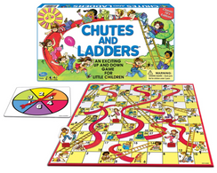 Classic Chutes & Ladders Game