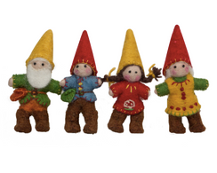 Papoose Gnome Family 4pc