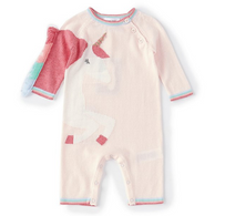 AD Coverall Unicorn Pink