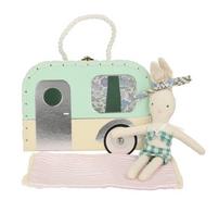 Meri Meri - Caravan Bunny Mini Suitcase & Doll