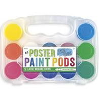 Lil Poster Paint Pods - Classic Colors