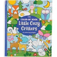 Color In Book - Little Cozy Critters
