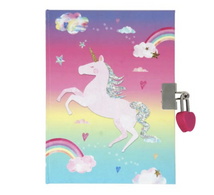 PP Unicorn Scented Lockable Diary