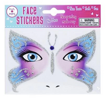 PP Fairy Face Sticker Tattoo