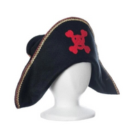 Pirate Hat Red Skull