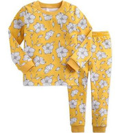 VB PJ Set - Yellow Bloom