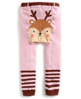 VB Legging 12-24m - Pink Deer