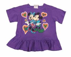 Minnie & Mickey Tee 6y