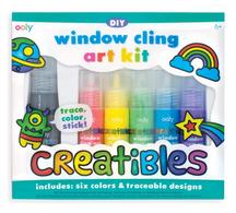 OO Window Cling Art