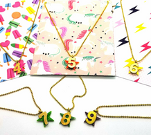 BB Necklace - Number