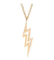 BB Necklace - Lightning Bolt