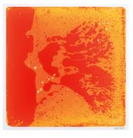 Surfloor Liquid Tile - Orange/Yellow