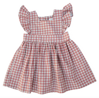 WJ Pinafore Gingham