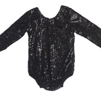 CD Leotard Black Sequin