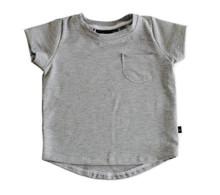 BS Pocket Tee- Gray