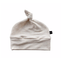 BS Knotted Beanie- Almond