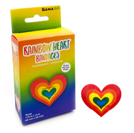 GG Rainbow Heart Bandages