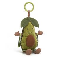JC Amuseable Avocado Activity Toy