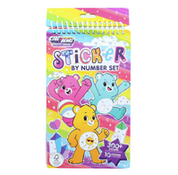 FA Care Bear Sticker By Number Set
