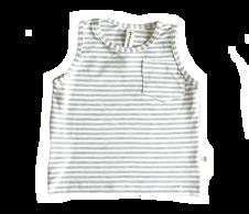 BS Tank - Grey Stripe