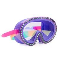 Swim Mask - Big Heart Glitter