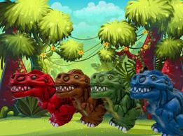 Jumbo Squish T-Rex!