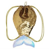 Mermaid Wishes Gold Bag