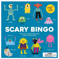 Scary Bingo: Fun With Monsters
