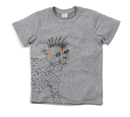 Grey Hugh T-shirt