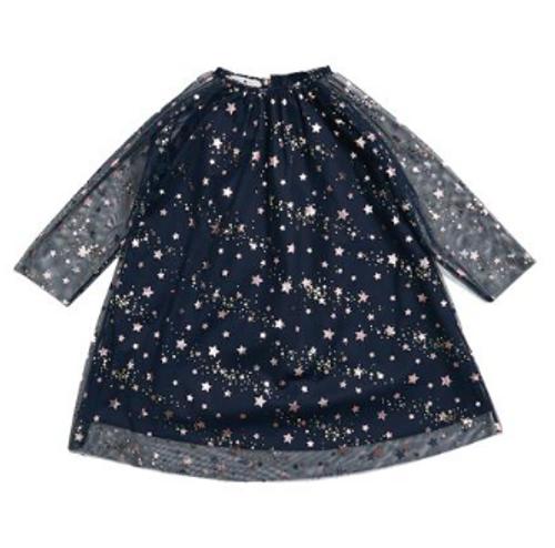 Rora Star Dress - Navy