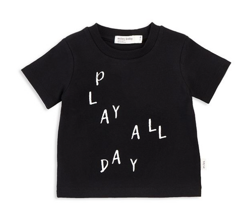 Playwear T-Shirt Black