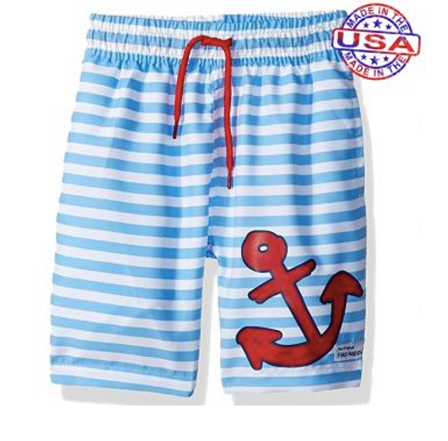 Sailor Swim Trunks