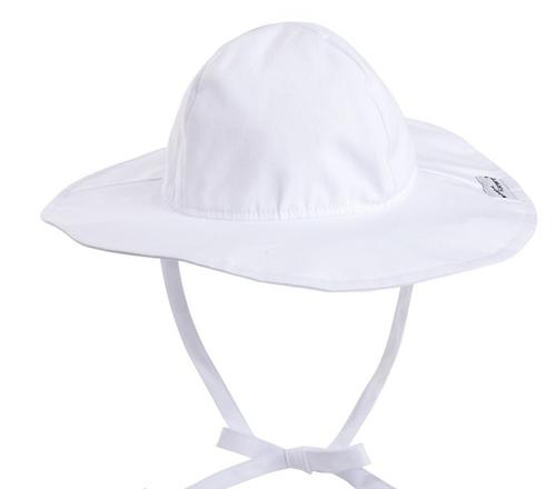 Floppy Hat White